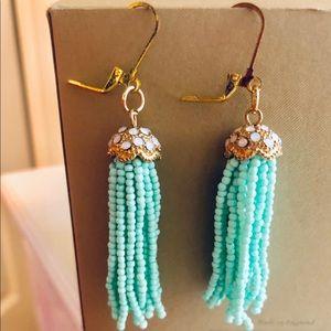 FRANCESCA'S Aqua Earrings NEW